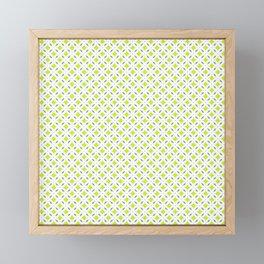 Green Target Framed Mini Art Print