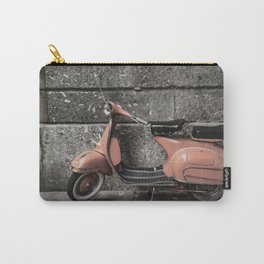 Vintage Moped Carry-All Pouch