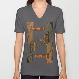 In Love with the Sea / Lighthouses Fuencaliente Unisex V-Neck
