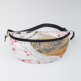 Cherry Owl Fanny Pack