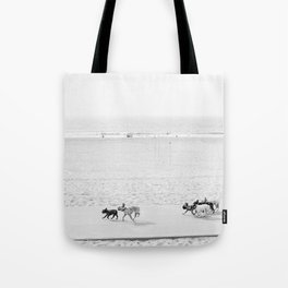 Puppy Traffic, French Bulldogs, Frenchie Art, French Bulldog Gifts Tote Bag