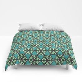Honeycomb Pancake Pattern Comforters