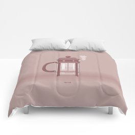 Coffee Maker Series - French Press Comforters