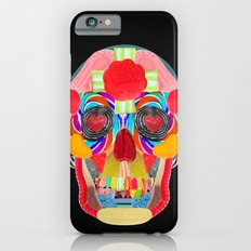 Sweet Sweet Sugar Skull On Black Slim Case iPhone 6s