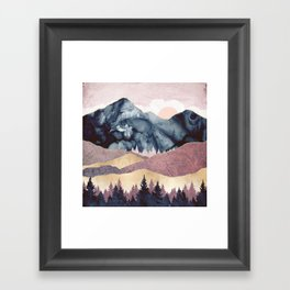 Mauve Vista Framed Art Print