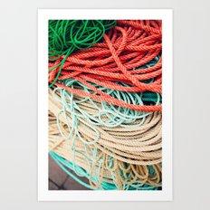 Sailor Rope  Art Print