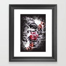 Hands off Framed Art Print
