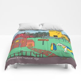 Afternoon at the Medieval Age Comforters