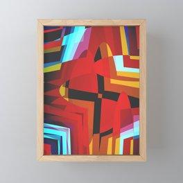 The Cross Framed Mini Art Print