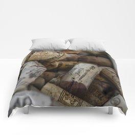 Wine Cork No. 3 Comforters