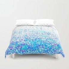 sparkly blue Duvet Cover