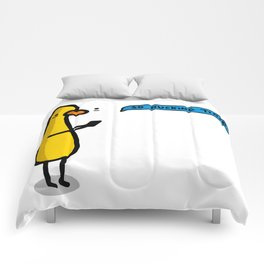 So Ducking Tired   Veronica Nagorny Comforters