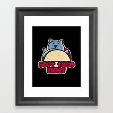 Soft Taco Night Framed Art Print