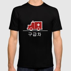 Ambulance - Korea Mens Fitted Tee Black LARGE