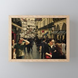 Alone & Together in Montpellier Framed Mini Art Print