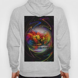 Abstract Perfection 42 Autumn Hoody