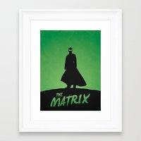 matrix Framed Art Prints featuring Matrix by Nick Kemp