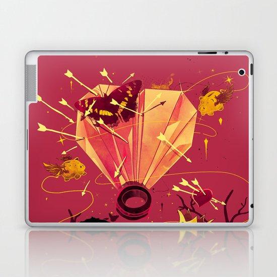 2 Hearts 2 Love Laptop & iPad Skin