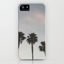 Vegas Palm Trees iPhone Case