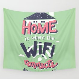 Home Wifi Wall Tapestry