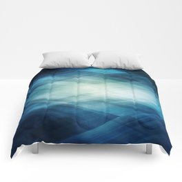 Amazing Abstract Triangular Galaxy - Visual Art V.6 Comforters