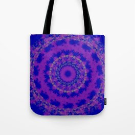 Purple and blue pattern Tote Bag
