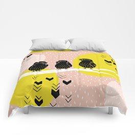 The Finch Clique - Peach Comforters