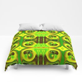 Brightly So Devils Pattern 4 Comforters
