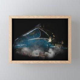 Mallard Steam Framed Mini Art Print