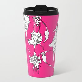 Cloud of spikes Metal Travel Mug