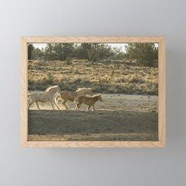 Kicking Up Dust, No. 2 Framed Mini Art Print