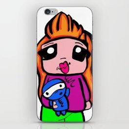 cute toon  iPhone Skin