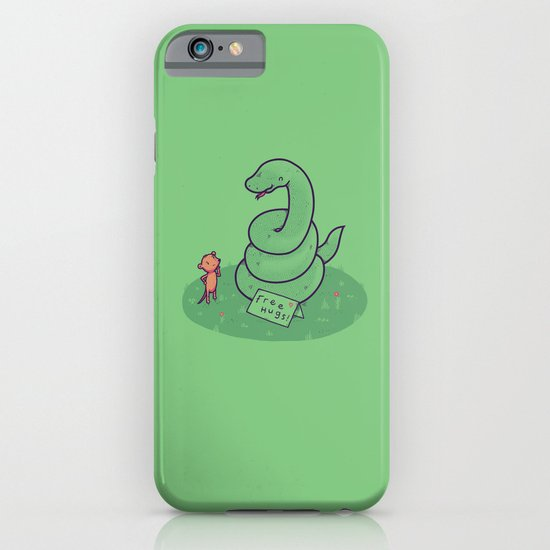 Free Hugs iPhone & iPod Case