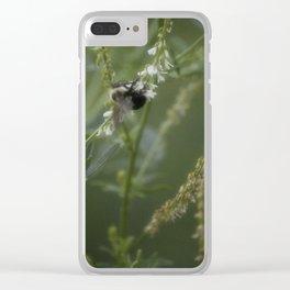 Bumblebee Garden II Clear iPhone Case