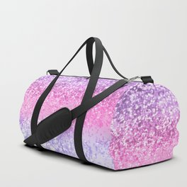 Unicorn Girls Glitter #2 #shiny #decor #art #society6 Duffle Bag