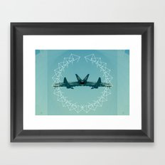 Can't Fly Framed Art Print