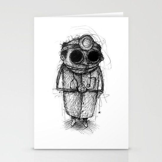 Dr. Death Stationery Cards