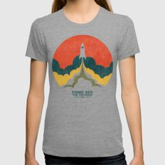 Come See The Universe Tri-Grey Womens Fitted Tee MEDIUM