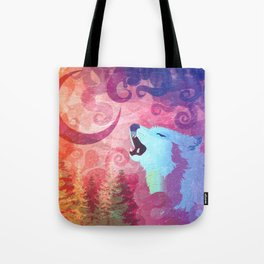 Howl @ The Moon Tote Bag