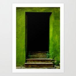 open door Art Print