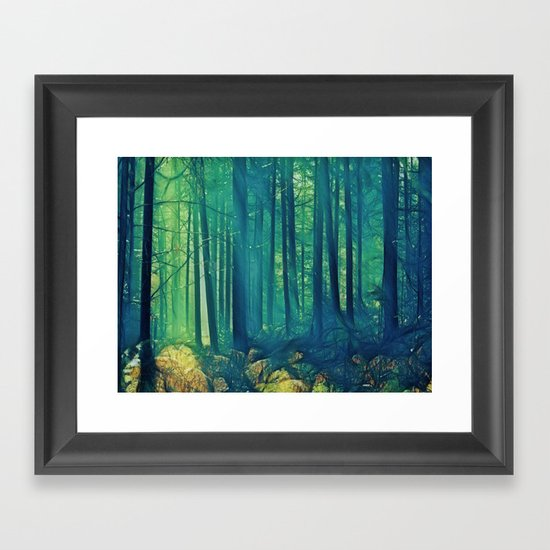 Eyes On The Forest, Not On The Trees. Framed Art Print