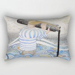 L'ancre en point d'attache. Rectangular Pillow