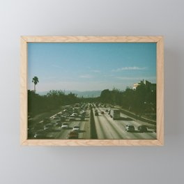 Freeway Framed Mini Art Print