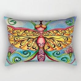 Summer of the Dragonfly Rectangular Pillow