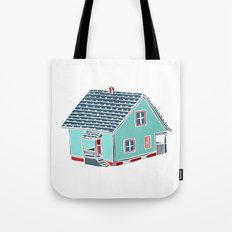 Little Porch House Tote Bag