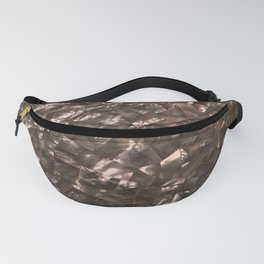 Glitter Rose Gold Shimmering Mother of Pearl Nacre Fanny Pack