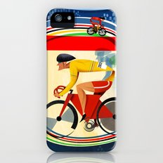 Track Cycling Championship Poster Cycle Bike Slim Case iPhone (5, 5s)