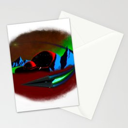 Plannet X settlement Stationery Cards