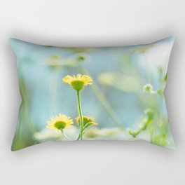 Afternoon in the meadow Rectangular Pillow
