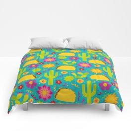 Taco Garden Comforters